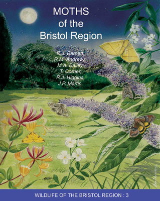 Moths of the Bristol Region book